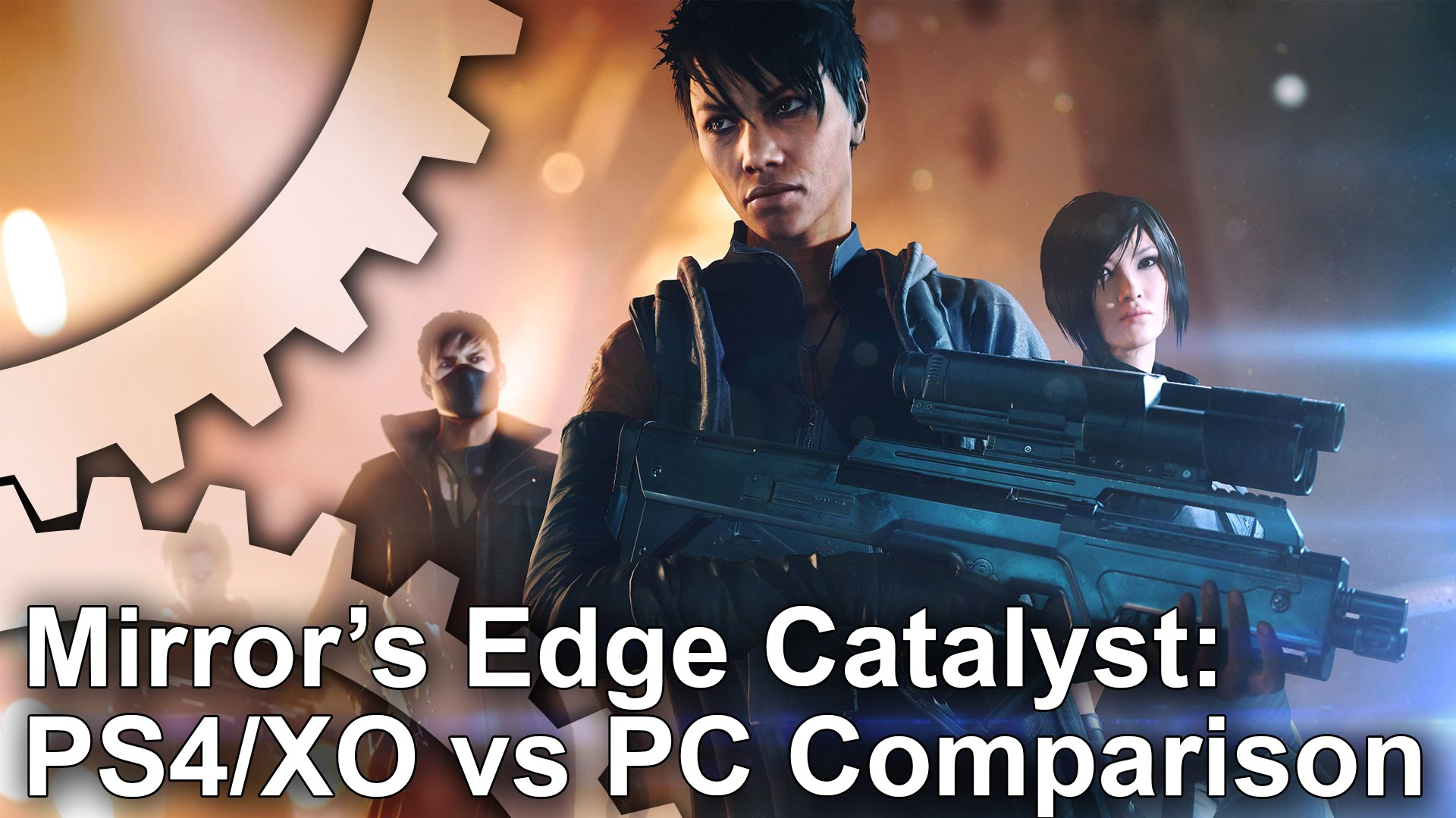 Mirror s edge catalyst ps4 xbox one vs pc graphics for Mirror xbox one to pc