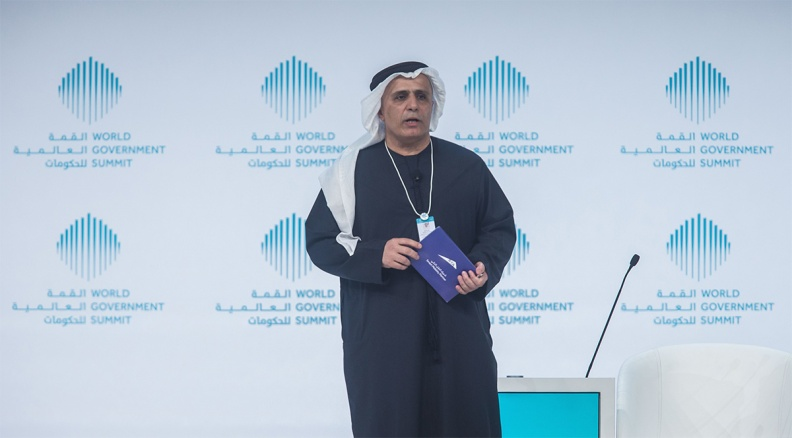 Matter al-Tayer speaking at the World Government Summit 2017