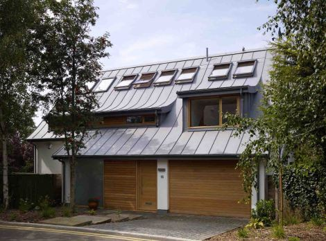 Lloyd House case study, Lloyd House sustainability, Lloyd House by Koru Architects, passive solar architecture, zero carbon architecture, plus energy housing, plus energy architecture, surplus renewable energy houses, sustainable architecture in the UK