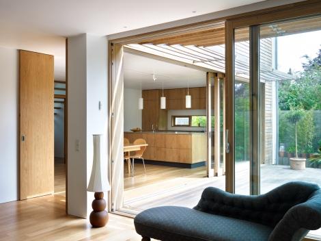 Lloyd House case study, Lloyd House sustainability, Lloyd House by Koru Architects, passive solar architecture, zero carbon architecture, plus energy housing, plus energy architecture, surplus renewable energy houses, sustainable architecture in the UK