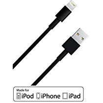 Lightning Cable [Apple MFi Certified] Stalion® Stable USB Data Sync Charger Cord for iPhone 5 5s 5c SE iPhone 6 6s Plus iPad Air iPad Mini iPad Pro iPod Touch iPod Nano 7