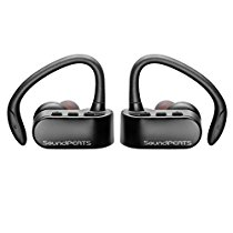 SoundPEATS Bluetooth Headphones Sport Wireless Earbuds Stereo Earphones with Mic (Bluetooth 4.1, aptx, Secure Ear Hooks Design, 6 Hours Play Time, Upgraded Version)