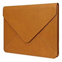 PLEMO Envelope Leather Laptop Case