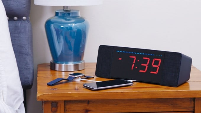 The world's best alarm clock.