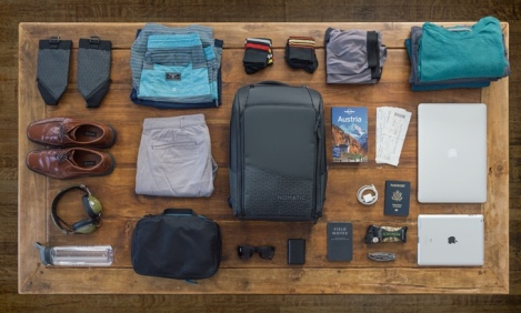The NOMATIC Travel Pack, Perfect for 1-3 Day Trips.
