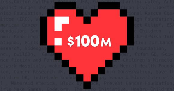 Humble Thanks: $100 Million Charity Milestone