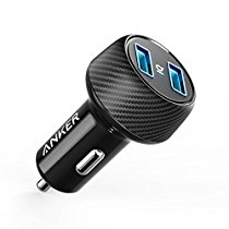 Anker Ultra-Compact 24W Dual Port Car Charger