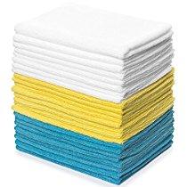 "Royal 24-Pack Microfiber Cloth Set - 12""x16"""