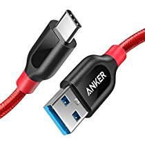 Anker Powerline+ USB C to USB 3.0 Cable (3ft)